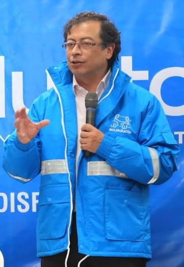 Gustavo Petro, alcalde Mayor de Bogotá.