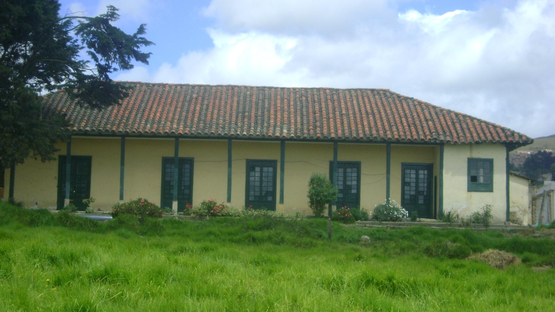 Casona de la antigua Hacienda Terreros. Fotografía David Barbosa.