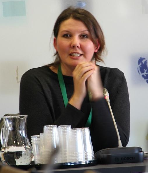 Gry Larsen, secretaria de Estado de Asuntos Exteriores de Noruega.