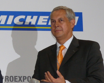 Jorge Luis Vega Martínez, Presidente Michelín Colombia.