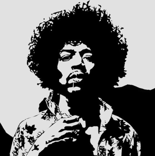 Jimi Hendrix, para muchos el mejor guitarrista de la historia.