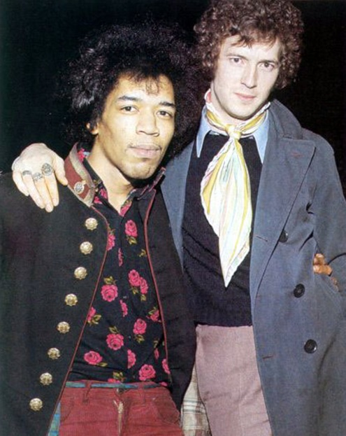 Guitar Heroes – Jimi Hendrix y Eric Clapton.