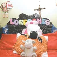 Posiblemente su madre nunca podrá acostumbrarse a la ausencia de la pequeña Leydi Lorena.