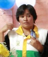 María Isnelda Gutiérrez, líder comunal asesinada.