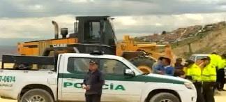 En el operativo participaron alrededor de 300 hombres de la Fiscalía y la Policía Nacional.
