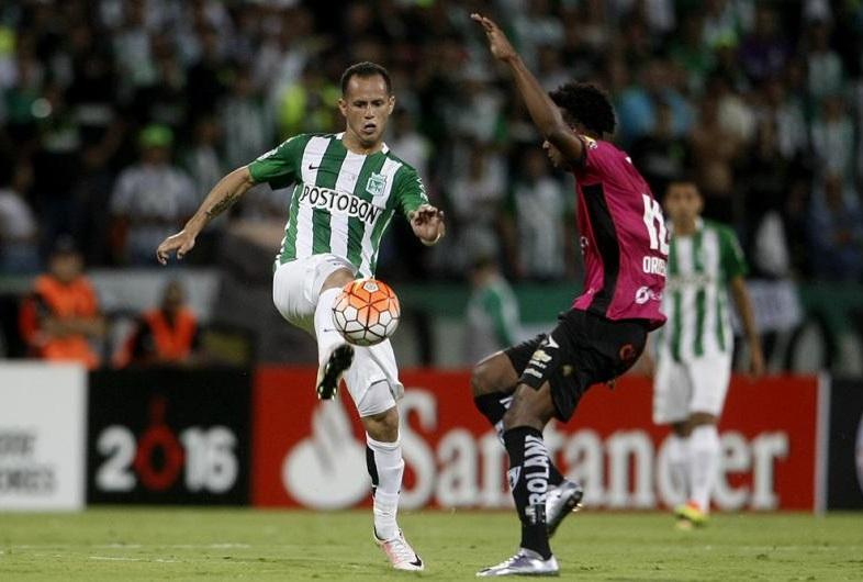 Alejandro Guerra, fundamental en la victoria de Atlético Nacional