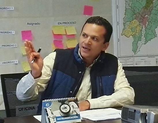 Juan Carlos Saldarriaga, gerente de la Corporación Social de Cundinamarca.