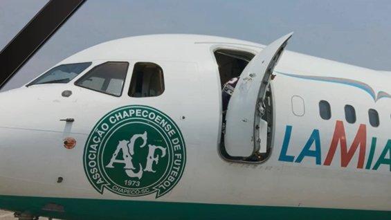 Este es el avión de la empresa Lamia Corporation SRL siniestrado en Colombia.