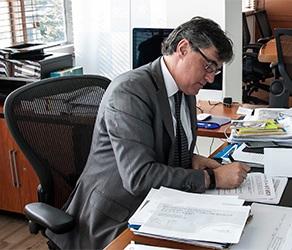 Germán González Reyes, gerente de la Empresa de Acueducto, Alcantarillado y Aseo de Bogotá EAB-ESP.