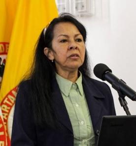 Tulia Hernández Burbano, personera de Manizales.