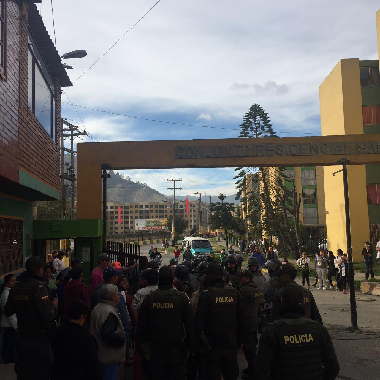 Operativo de recuperación del espacio público realizado por la Alcaldía de Soacha