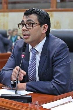 Diputado Víctor Julián Sánchez.