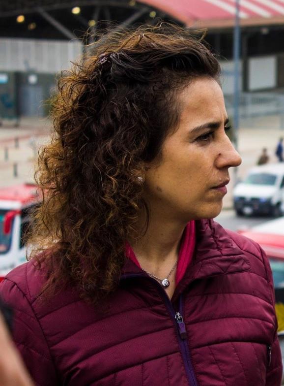 Alexandra Rojas, gerente de TransMilenio.