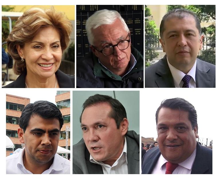 Panelistas invitados: Representante Betty Zorro, senador Jorge Enrique Robledo, senador Milton Rodríguez, diputado Julián Sánchez, concejal de Bogotá Antonio Sanguino y periodista Carlos Rodríguez, quie será el moderador.