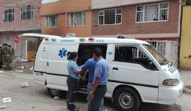 La Alcaldía de Bogotá prestó su colaboración para afrontar la emergencia.