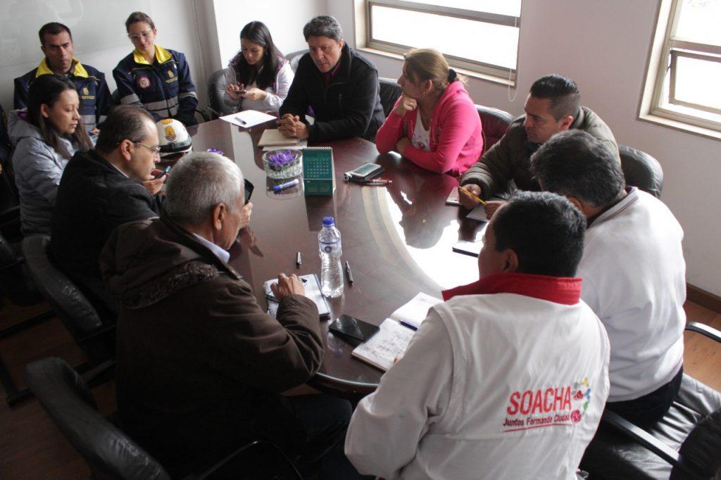 Consejo Permanente de Gobierno instalado por el alcalde de Soacha, Eleázar González.