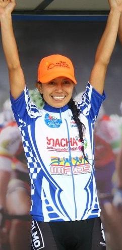 Blanca Liliana Moreno, ganadora de la Categoría Femenina.