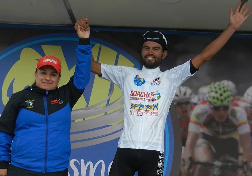 Camilo Gómez, ganador de la tercera etapa.