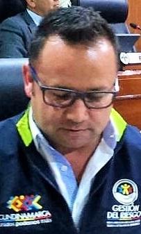 Wilson García, director de la Uaegrd.