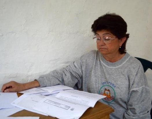 Las dificultades de María Elena iniciaron hace 16 años. En el 2000 una ecografía reveló que solo tenía el riñón izquierdo. Foto La Patria.