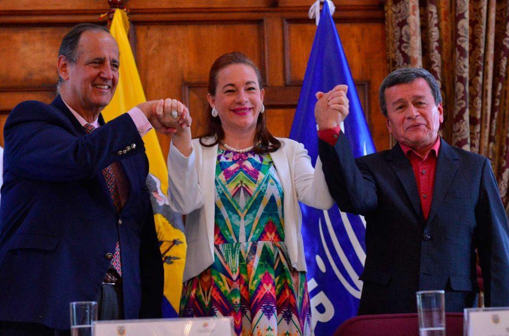 Acuerdo de Quito sobre cese al fuego bilateral y temporal