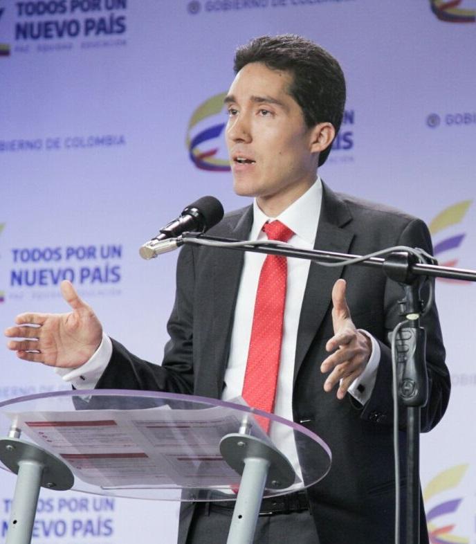 Luis Fernando Mejía, director del Departamento Nacional de Planeación.