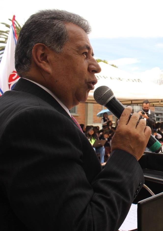 Eleázar González Casas, alcalde de Soacha.