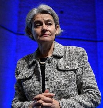 La directora general de la Unesco, Irina Bokova, lamentó la salida de Estados Unidos.