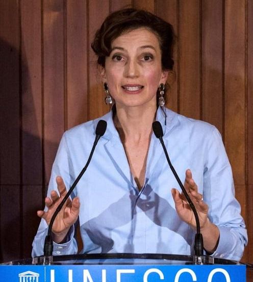 """La exministra francesa de Cultura Audrey Azoulay fue elegida hoy por el Consejo Ejecutivo de la Unesco para dirigir esa organización que, según ella misma reconoció, atraviesa """"un momento crítico"""" tras la salida de Estados Unidos e Israel."""