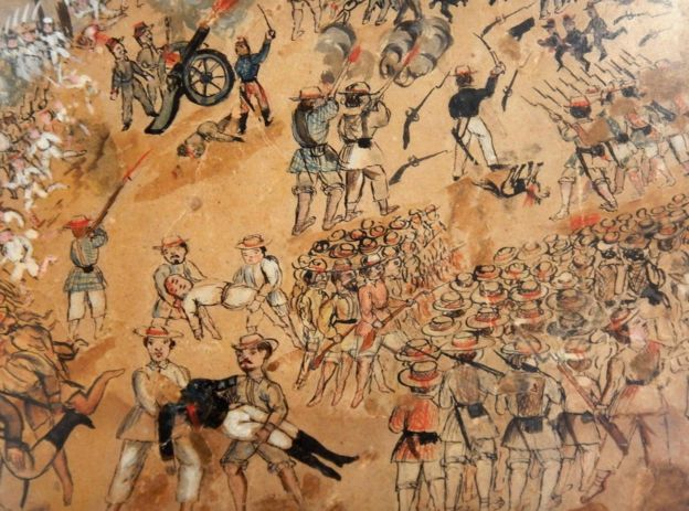 Un alzamiento en la península de Yucatán (México), conocido como Guerra de Castas, muestra la división de clases en la Nueva España vista a través de la ropa que vestían.