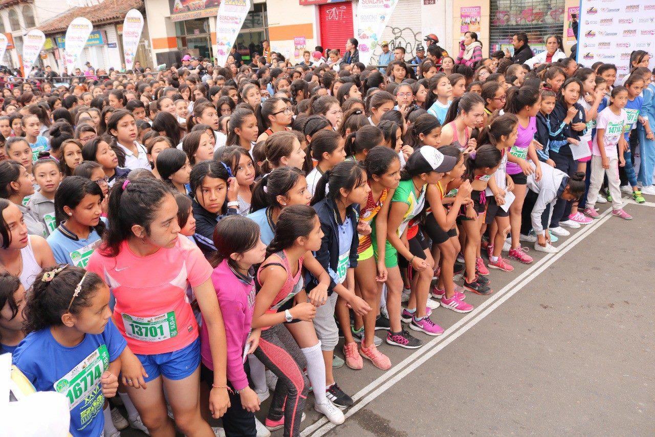 Las mujeres fueron las principales animadoras de la XXVI Carrera Atlética Internacional Ciudad de Soacha.