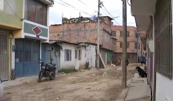 Barrio La María de Soacha.