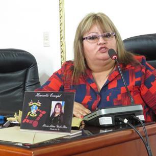 Concejal Gloria Lilian Uribe Ríos