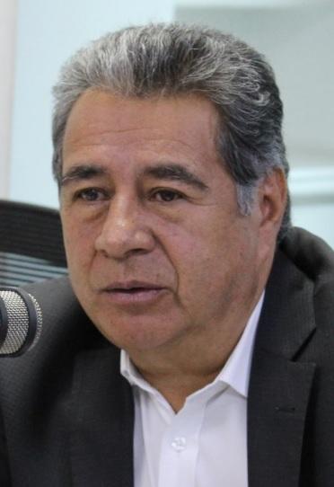 Eleázar González, alcalde de Soacha.