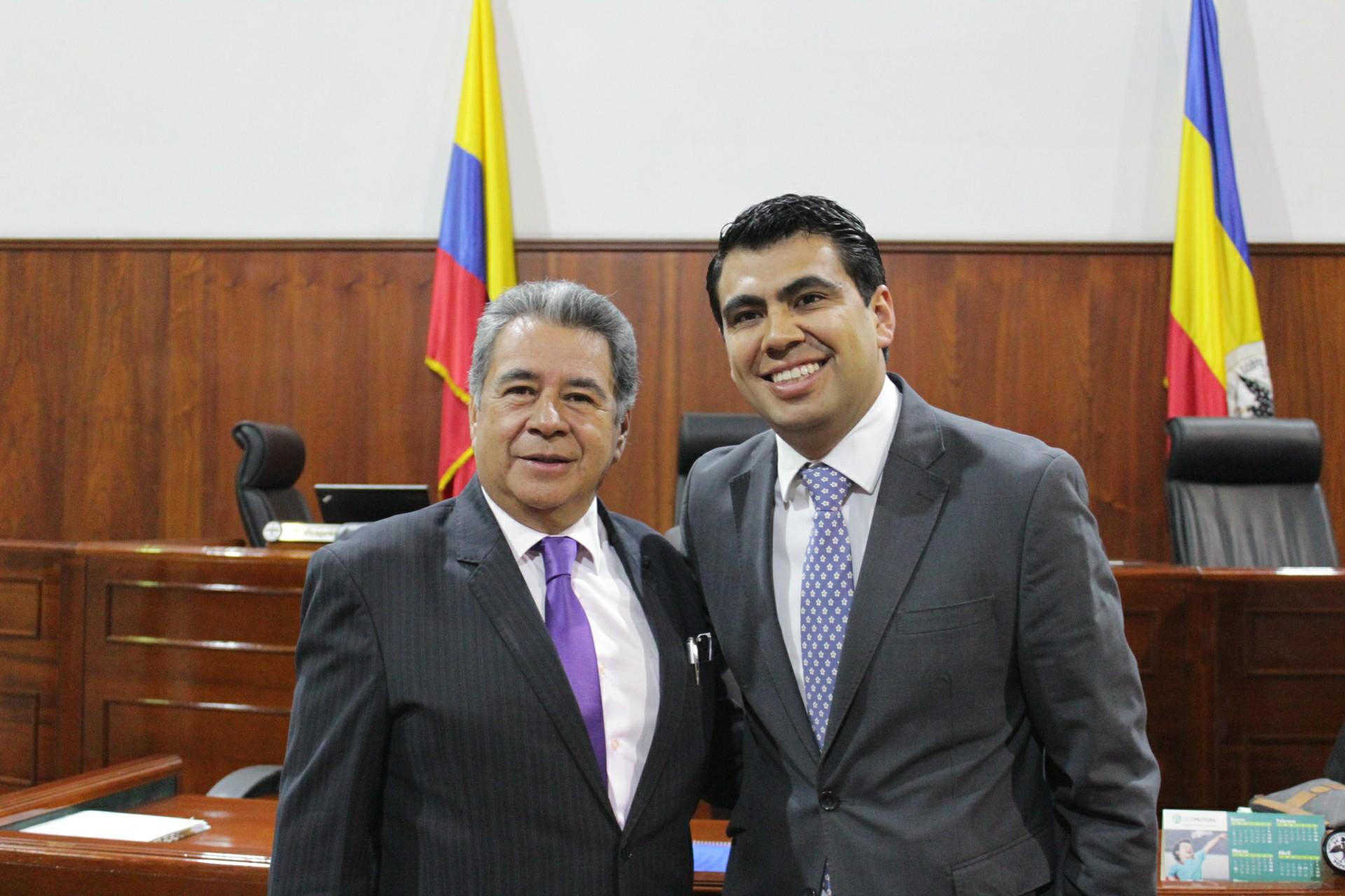 Satisfechos con la aprobación de la Asamblea se declararon el alcalde de Soacha, Eleázar González y el diputado Víctor Julián Sánchez.