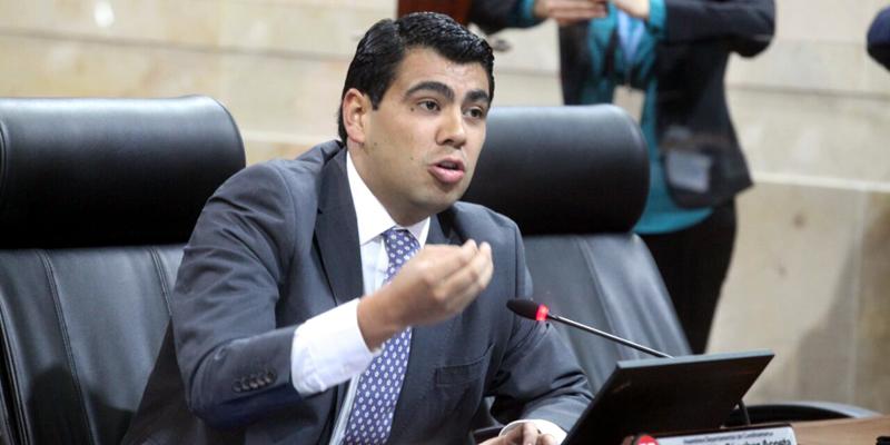 El diputado de la U, Víctor Julián Sánchez, fue el ponente del Proyecto de Ordenanza.