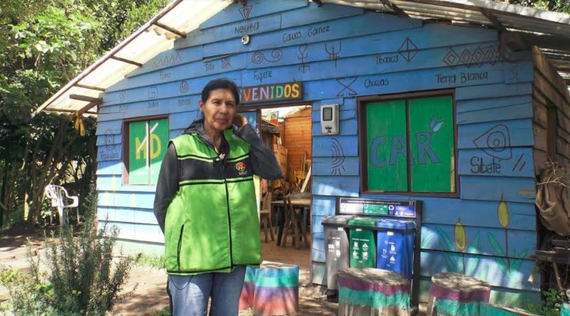 Dora Vásquez, Subdirectora Fundación ambiental para el desarrollo sostenible Surkay.