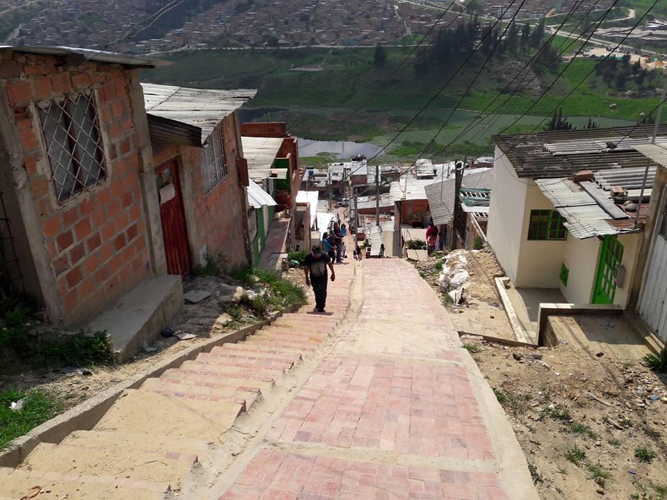 Barrio el Progreso en Altos de Cazucá