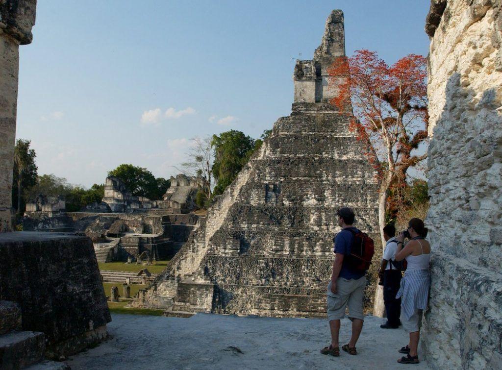 La zona arqueológica de Tikal en Guatemala. Foto: Justin Lane/ The New York Times