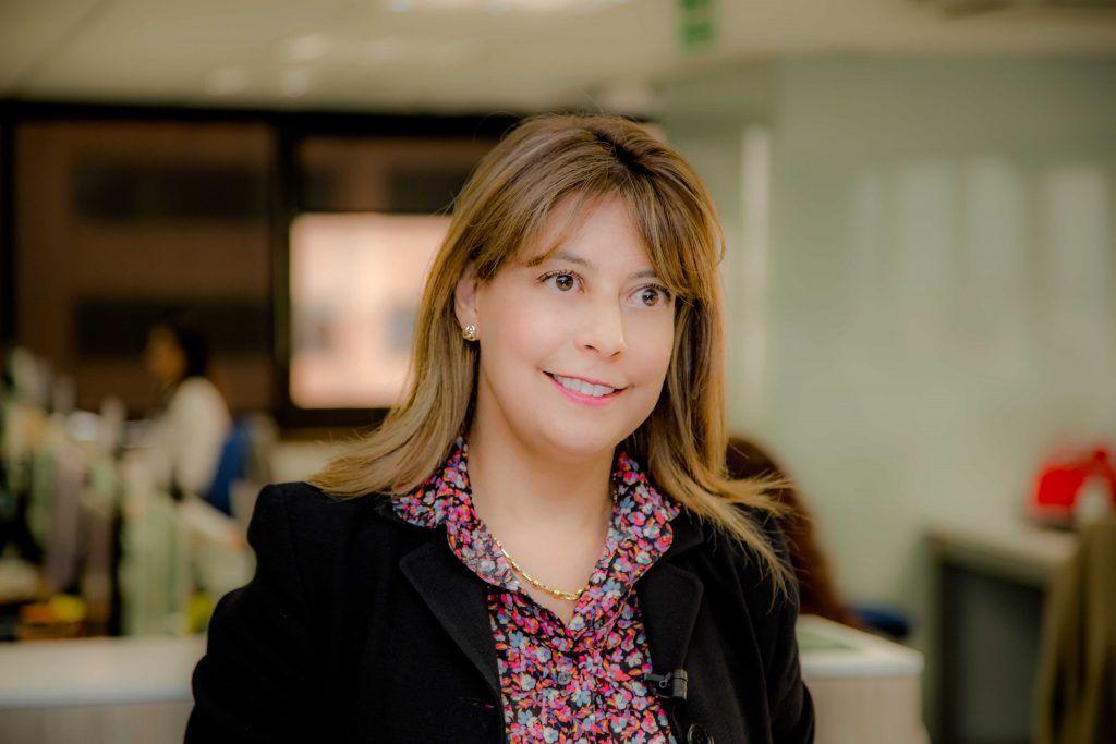 Adriana María Guzmán Rodríguez, presidente de Colpensiones.