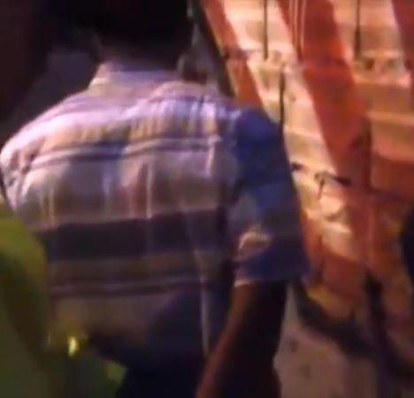 Captura de uno de los presuntos implicados.