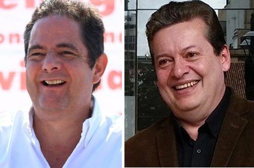 Germán Vargas y Alirio Uribe