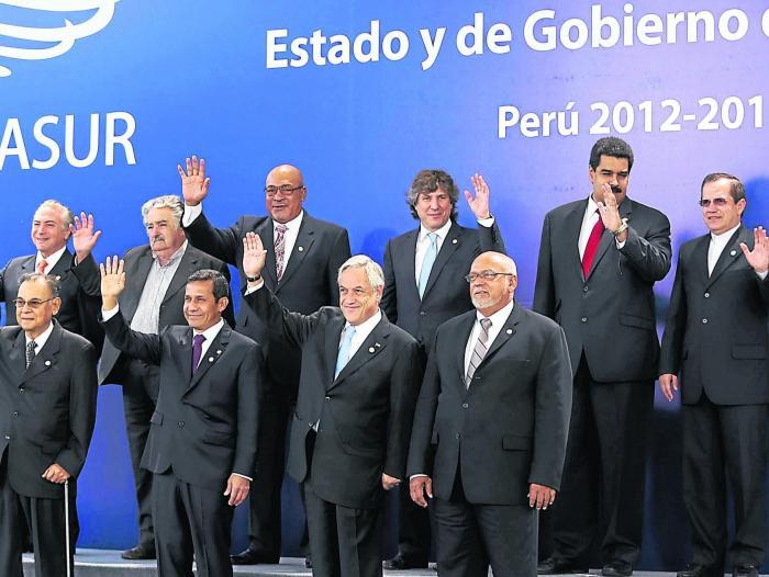 Cumbre de la Unasur de 2012.