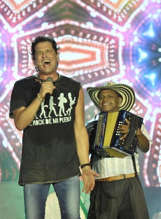 """Los asistentes a La Iliada Vallenata, han podido disfrutar y entender de manera teatral, lo que es """"El Rock de mi Pueblo"""" de Carlos Vives."""