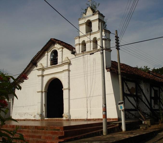 Iglesia de la Virgen de la Canoa en el municipio de Beltrán.