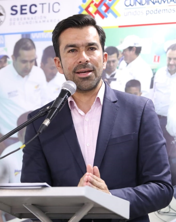 Jorge Emilio Rey, gobernador de Cundinamarca