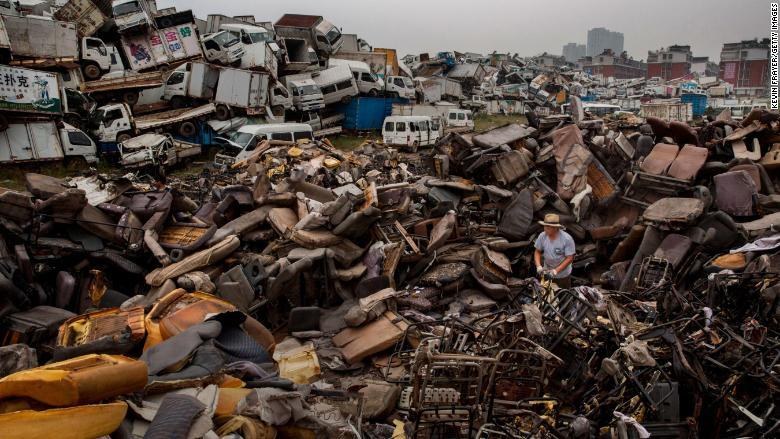 En 2014, China anunció que reduciría las emisiones de carbono en la próxima década como parte de los acuerdos mundiales sobre cambio climático. (Foto de Kevin Frayer / Getty Images)
