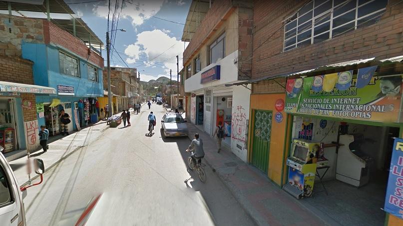 Barrio El Altico de Soacha