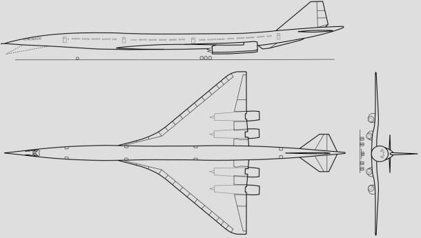 Boeing 2707, el intento norteamericano