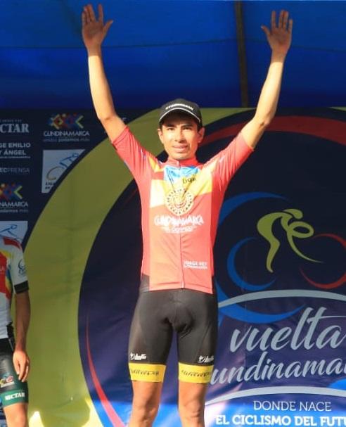 Wildy Enrique Sandoval, líder de la Vuelta a Cundinamarca 2018